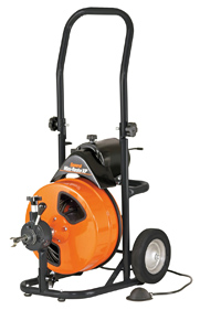 General Wire Drain Cleaning Machines