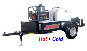 Trailer Mounted Hot Water Jetter